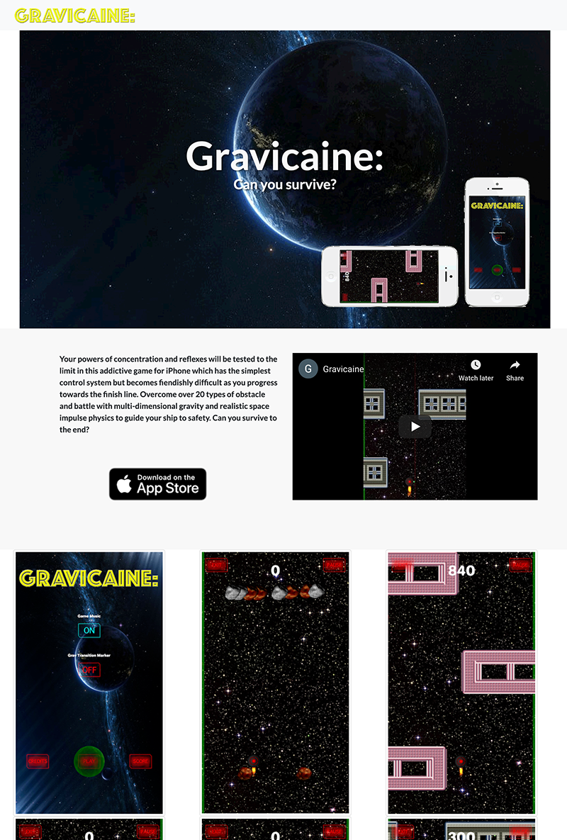 Web-design-agency-worksop-gravicaine-website-image